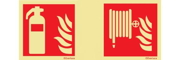Brandschutzzeichen SN EN ISO 7010 215mcd